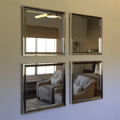 mirrors custom sized and framed for your space